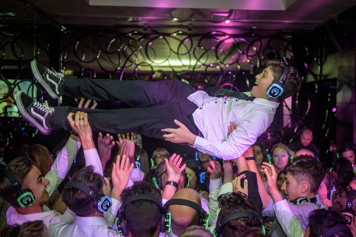 daniel's bar mitzvah at norrice lea and the may fair hotel