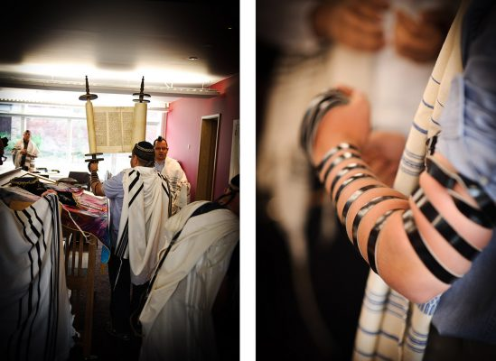 barmitzvah call up photography with tefillin