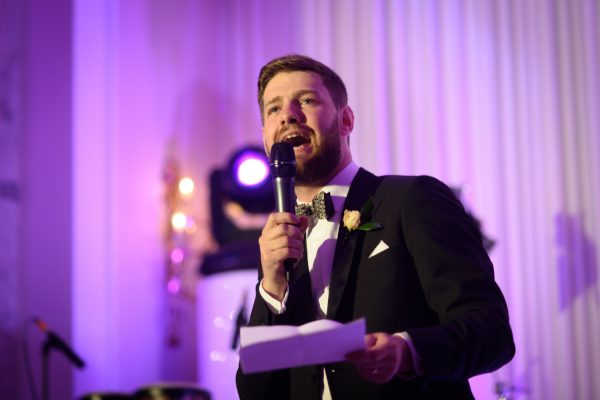 wedding speech made by the bridegroom