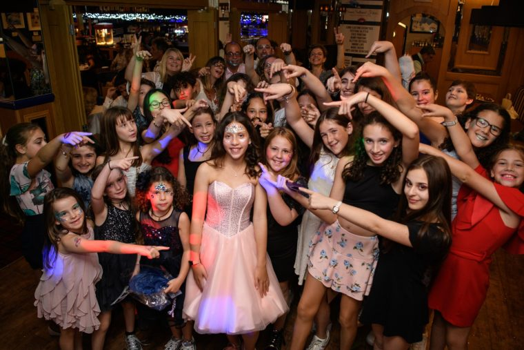 Jasmine's Bat Mitzvah Party at the Blue Check