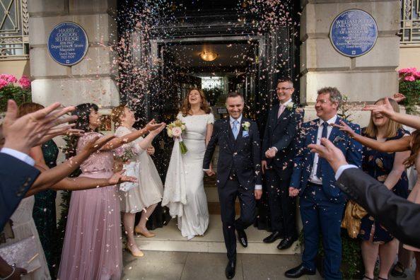 Duncan and Irina's Wedding at The Lansdowne Club